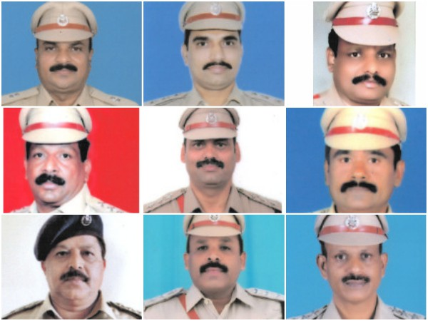 18 Karnataka police personnel honored with meritorious service medal