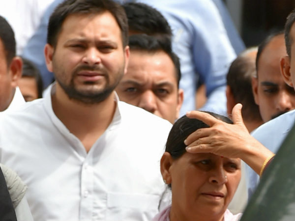 IRCTC Scam: Rabri Devi and Tejaswi Yadav granted bail