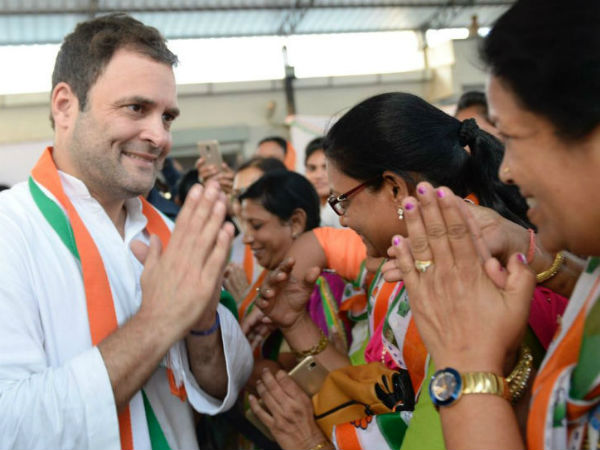 Rahul Gandhi held meeting with women congress presidents of all state