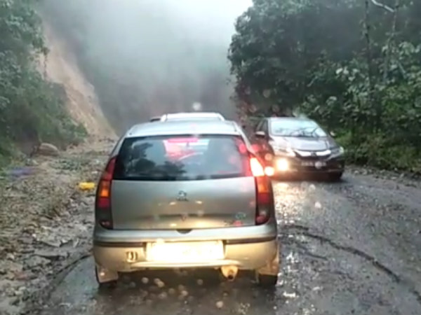 Slow moving traffic in Charmadi ghat, commuters better to know this