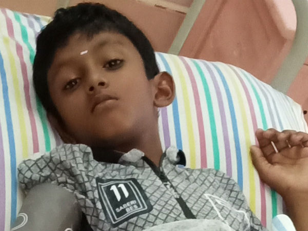 9 year old Sai's battle to get his kidney transplant