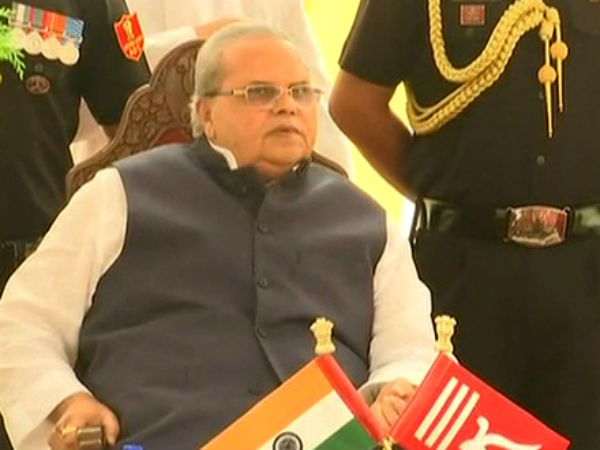 Satya Pal Malik sworn in as Jammu Kashmir governor