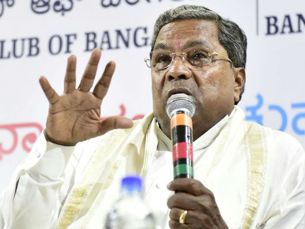 Coalition government will complete 5 years: Siddaramaiah