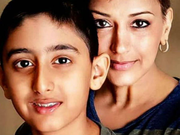 Sonali Bendre writes an emotional letter with a video to her son