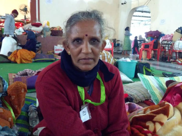 Story of a woman who lost her husband in the flood of Kodagu