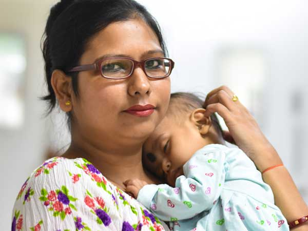 Single Mother Fights Against Society To Save Her Baby Girl Aparajitha