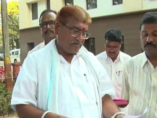 Bhimappa Gadad said Minister spent Rs.24 crore in the Siddaramaiah government