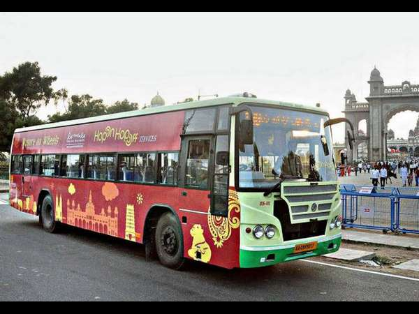HOHO Bus facility available in Mysore dasara