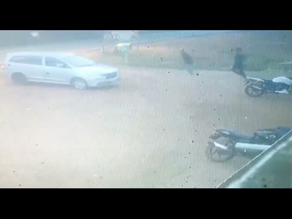 Attack on Imthiaz captured in CCTV camera