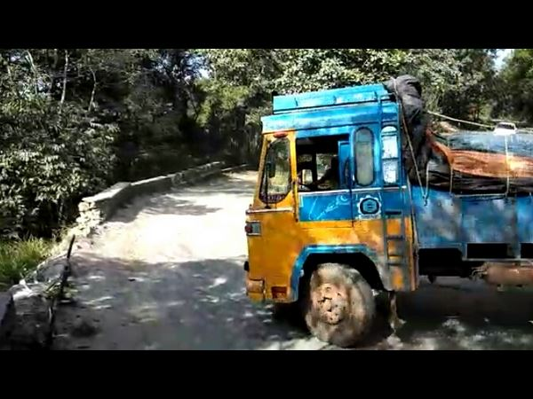 Charmadi Ghat Road Become Impossible To Drive