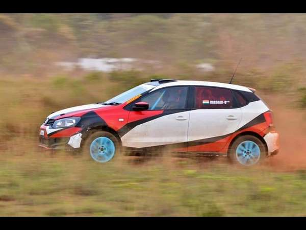 This is the first time Mysore Dasara Gravel Fest has organized a car race