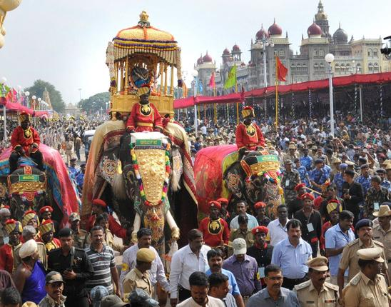 Rs 27 crore will be spent on Mysore Dasara works