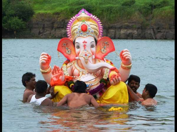 Why Ganesha Idol Is Immersed In Water After Pooja