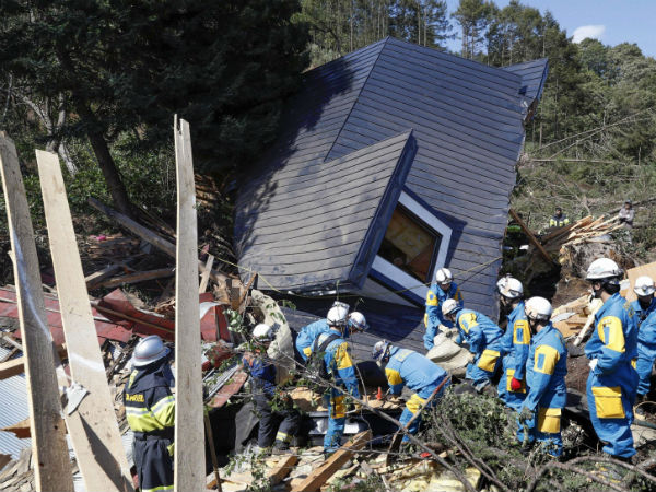 Major earthquake in Japan: many died