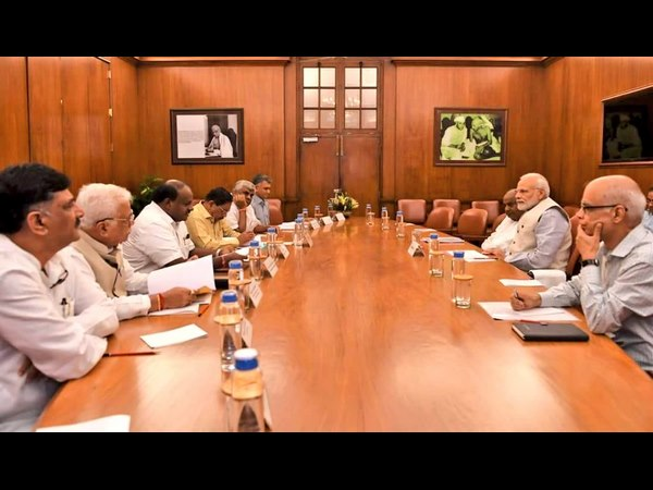 No any Karnataka BJP MPs visited Modi to ask help for Kodagu