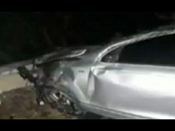 Actor Darshan accidental car is shifted to Bangalore
