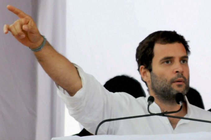 Arun Jaitley should step down as FInance Minister : Rahul Gandhi