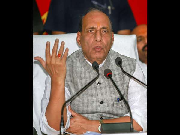Rajnath Singh hinted surgical strike in pakistan border