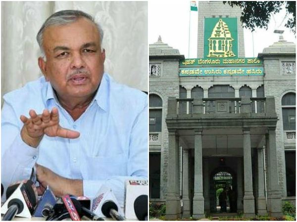 Ramalinga Reddy meets BBMP independent corporators