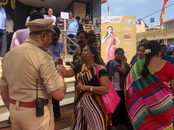Women expressed outrage in Mysuru
