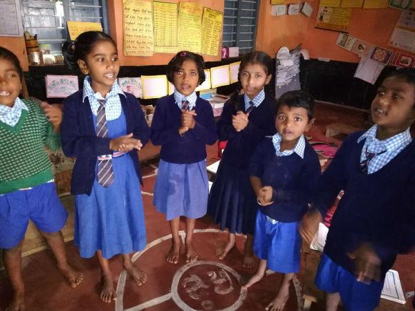ಸರ್ಕಾರಿ ಶಾಲೆಗಳಲ್ಲಿ ವಿದ್ಯಾರ್ಥಿಗಳಿಗೆ ಯೋಗ ತರಬೇತಿ