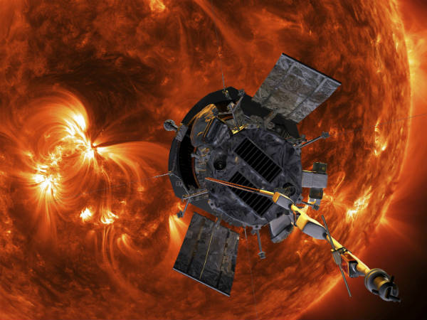 NASAs Parker Solar Probe beamed back first images
