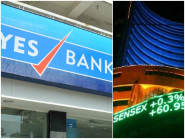Yes bank shares plunge 34% after RBI trims CEO Rana Kapoors term