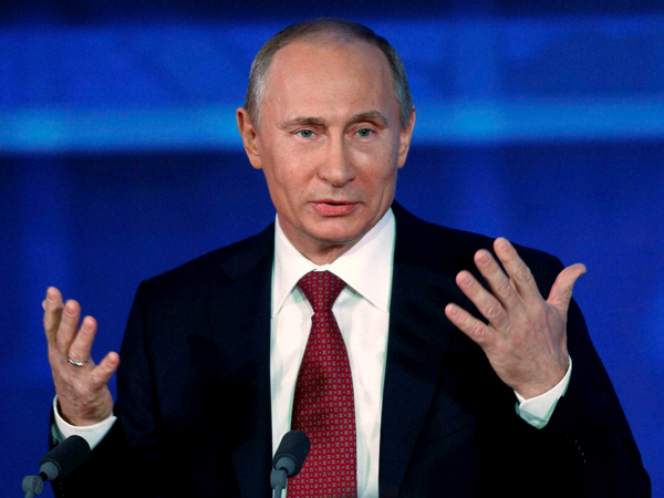Russian president Vladimir Putin to arrive to Delhi today