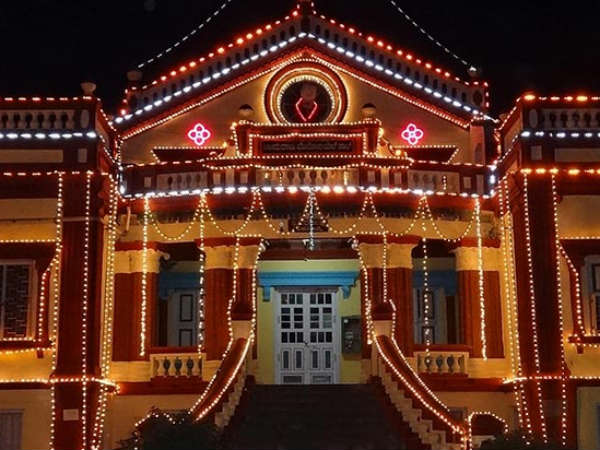 Simple traditional Dasara this year in Shivamogga
