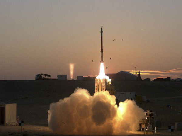 India signs deal with Israel for Missile Defence Systems