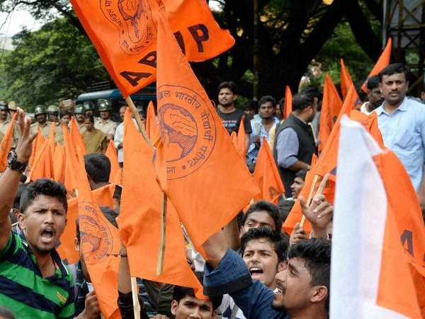 ABVP sweeps all six posts in Students Union poll at Hyderabad University