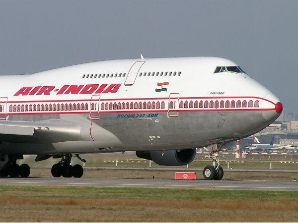Passengers complaint on bed bugs in Air India plane