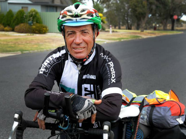 Italian 71 Yo Cyclist Armando Is An Inspiration To Youth