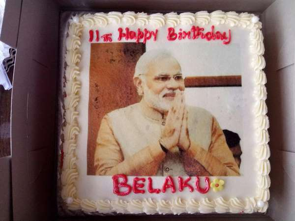 modi birthday wishes to belaku postcard news founder daughter