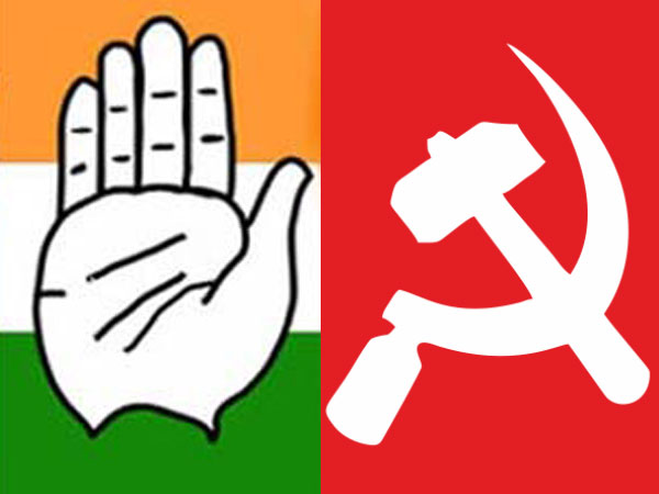 Bellary: communist party (cpi) joins hands with congress