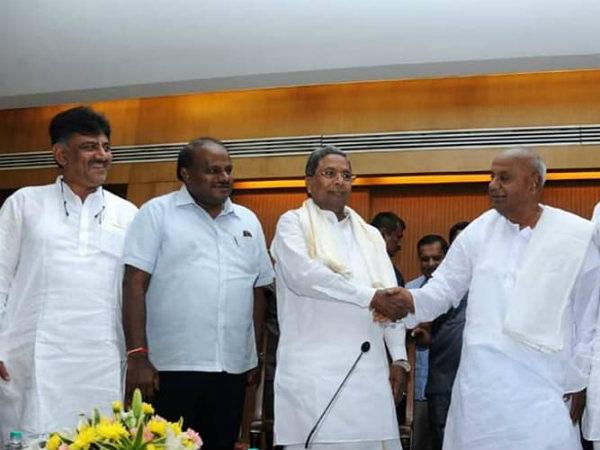 'ದೇವೇಗೌಡ, ಸಿದ್ದರಾಮಯ್ಯ ರಾಜ್ಯದ ಜನರ ದಾರಿ ತಪ್ಪಿಸುತ್ತಿದ್ದಾರೆ'