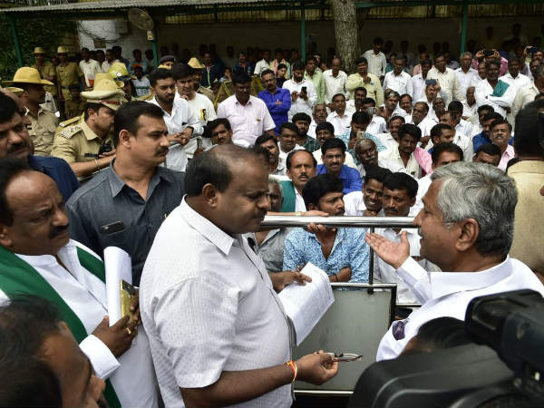 Janthakal mining case : Big relief for Karnataka CM HD Kumaraswamy