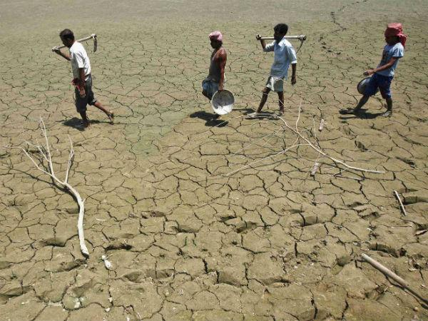 State seeks to center for Rs 2,434 Crore as drought relief