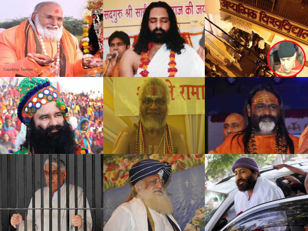 List Of India S Self Styled Godmen Convicted Infamous