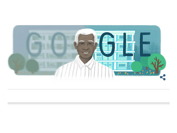 Google honors great ophthalmologist Dr. V with doodle