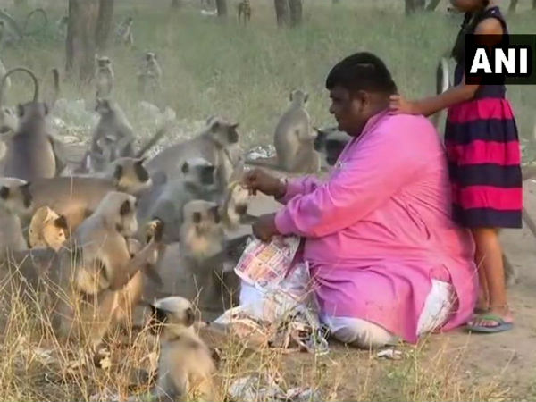 Here Is A Human Interest Story Of Monkey Man From Ahmedabad