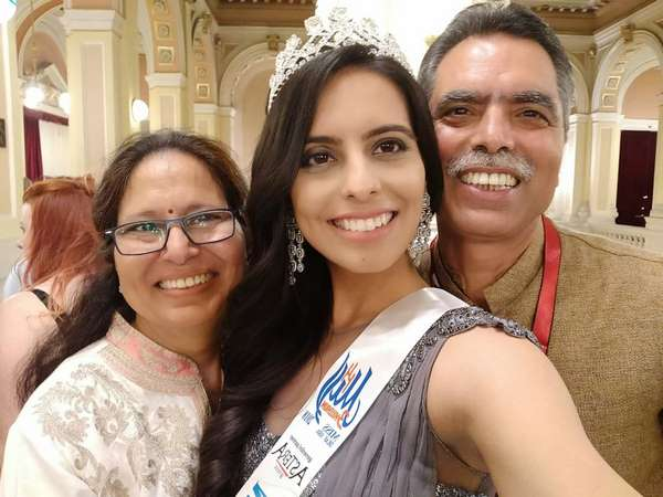 Nishitha Wins Miss Asia Deaf Title In Czech Republic