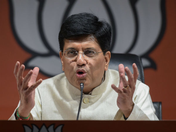 rafale deal piyush goyal called Rahul gandhi a serial liar