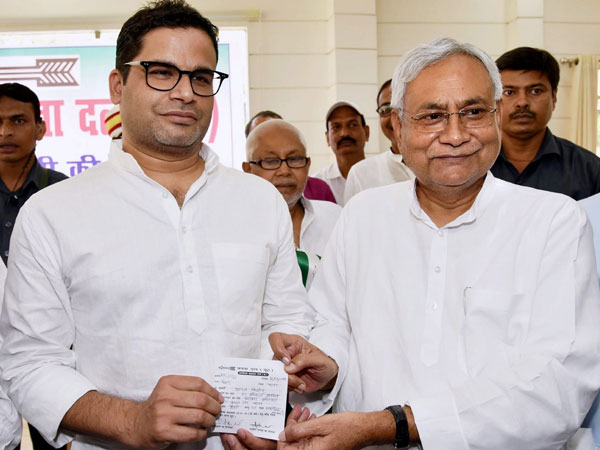 Nitish Appoints Poll Strategist Prashant Kishor As Jdu Vice President