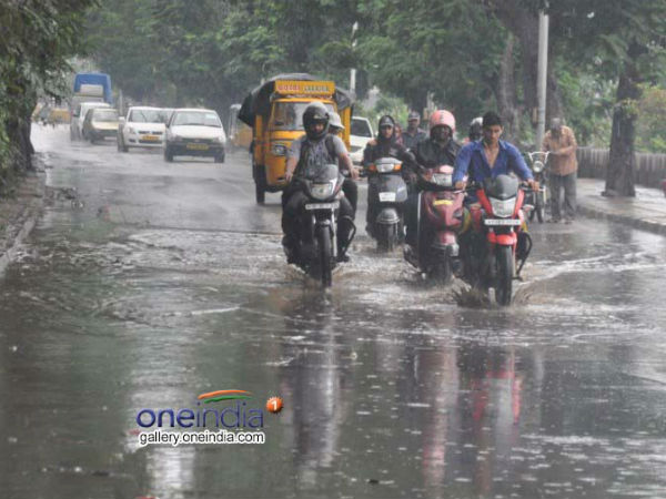Heavy rainfall in Bangalore, Chikmagalur districts