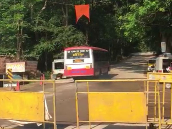 Shiradi Ghat open for Vehicle traffic