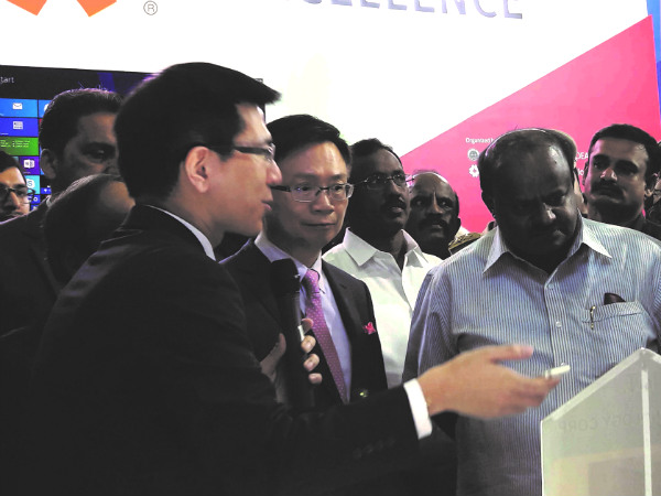 H. D. Kumaraswamy inaugurates the second edition of SMART ASIA India Expo & Summit