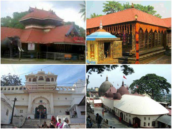 ಕೆಲವು ಸಂದರ್ಭ, ಕಾರಣಗಳಿಗಾಗಿ ಈ ದೇವಾಲಯಗಳಲ್ಲಿ ಪುರುಷರಿಗೆ ಪ್ರವೇಶವಿಲ್ಲ