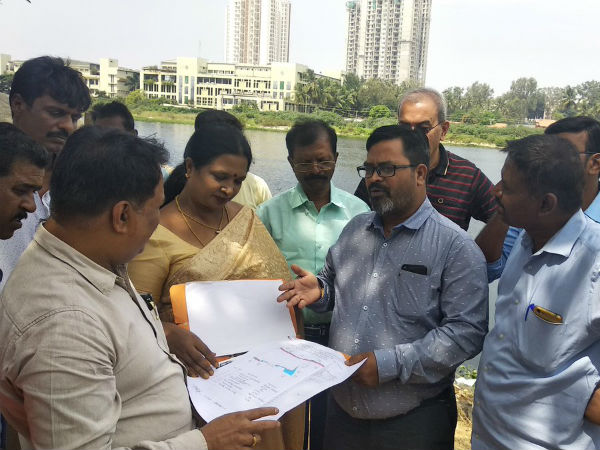 Joint survey conducted in Arakere