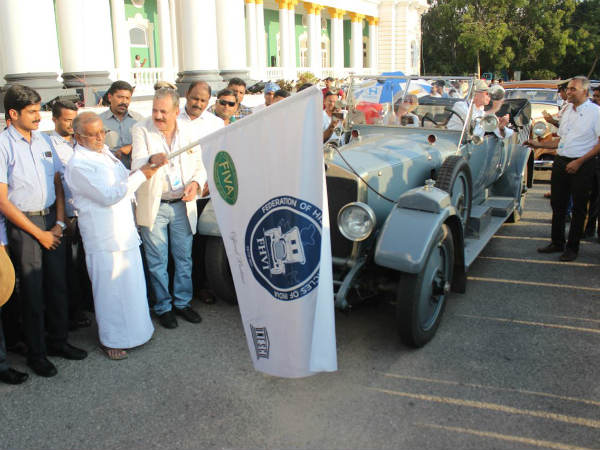 Minister GT Deve Gowda inaugurated the Vintage Car Festival